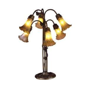 Dale Tiffany Farvile Accents 6 Light Table Lamp 1409