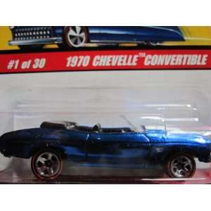 1970 Chevelle Convertible (Spectraflame Blue) 2005 Hot Wheels Classics