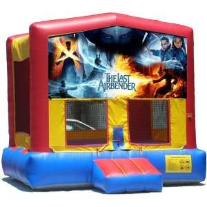 The Last AirBender Bounce House Inflatable Jumper Art Panel Theme