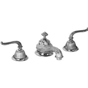 Legacy Brass 4101 Polished Chrome Bathroom Sink Faucets Lever Handles