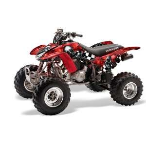 AMR Racing Honda TRX 400EX 1999 2007 ATV Quad Graphc Kit   Checkered