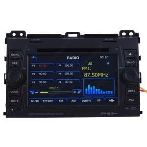 2002 09 Toyota Land Cruiser 120 Series Prado Car GPS Navigation Radio