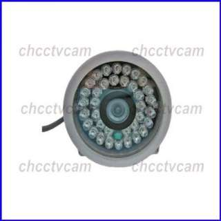 Mini Outdoor 600TVL Sony CCD CCTV 36IR Color Camera