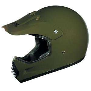 AFX Youth FX 6R Ultra Helmet   Large/Olive Green