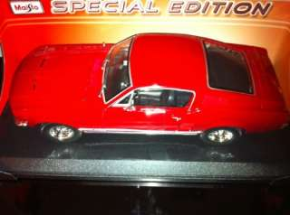 FORD MUSTANG GTA FASTBACK 1967 SPECIAL EDIT 1/18 SCALE