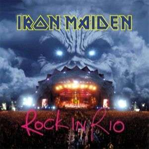 IRON MAIDEN   Rock In Rio (Live) [IMPORT]   2CD SEALED 724353864309