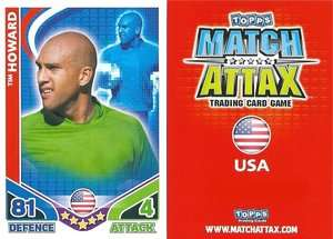 Match Attax World Cup 2010 USA Pick Your Own Base Cards