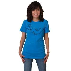 Narwhal American Apparel T shirt