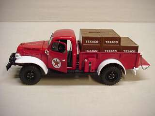 TEXACO 2011 1946 DODGE POWER WAGON STAKE TRUCK #28 REGULAR EDITION