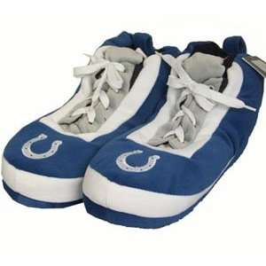 Indianapolis Colts Wrapped Logo Sneaker Slippers   Large