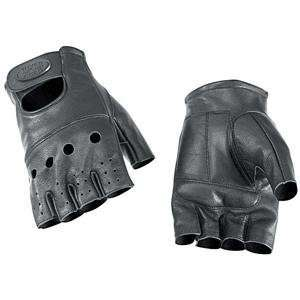 RIVER ROAD HOLLISTER SHORTY LEATHER GLOVE (X LARGE) (BLACK