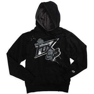 Fox Racing Acension Hoody   Medium/Black/Grey Automotive