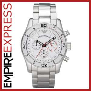 NEW** MENS EMPORIO ARMANI SPORTIVO WATCH   AR5932   RRP £299