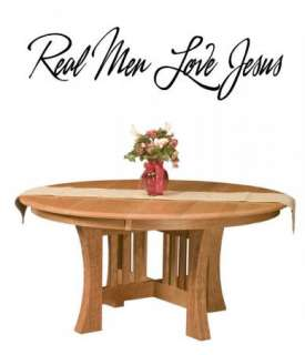 Real Men Love Jesus Vinyl Wall Art Words Decals Wall Stickers Decor