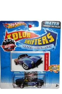 Hot Wheels Color Shifters Water Revealers Shelby Cobra 427 S/C