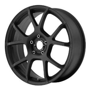 Motegi MR121 17x7 Black Wheel / Rim 5x100 with a 40mm Offset and a 72