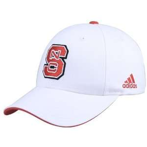 adidas North Carolina State Wolfpack White Camex