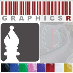 Graphic   Game Pieces Bishop Chess Player Board A259   Red Automotive