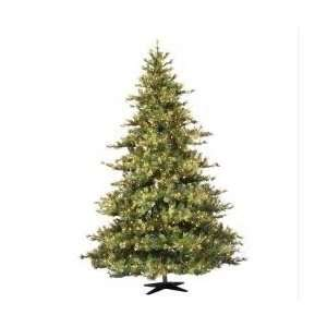 10 Pre Lit Mixed Country Pine Christmas Tree   Clear