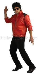 Beat It Red Adult Jacket Michael Jackson Costume Pop