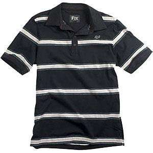 Fox Racing Vague Polo   Medium/Black Automotive