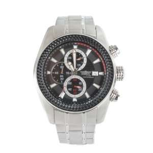 Dossenbach  Schwarzhorn Steel Mens Chronograph Watch