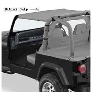 Brief Pacific Brief Bikin Top for 1992 1995 Jeep Wrangler   Charcoal