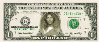 Iron Maiden SET OF 7 CELEBRITY DOLLAR BILL UNCIRCULATED MINT US