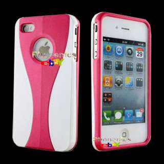 Wholesale 10PCS Premium Hard Cover Case for iPhone 4S 4 4G