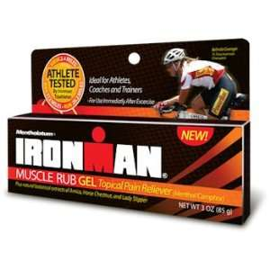 Ironman Muscle Rub Pain Relief Gel 3oz Health & Personal