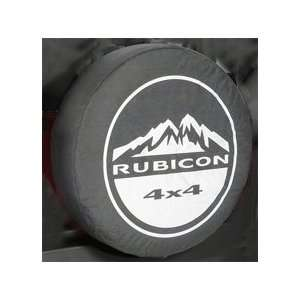 Jeep Wrangler  RUBICON 4X4  Spare Tire Cover 32 33 Inch