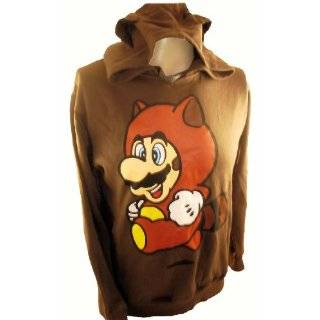 Mario Bros. Mens Hoodie Sweatshirt   Racoon Mario Ears by IN MY