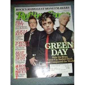 Rolling Stone Magazine Feb 24, 2005 Green Day Everything