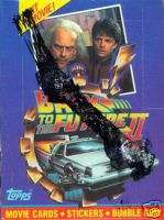 BACK TO THE FUTURE 2 1989 TOPPS TRADING CARD BOX