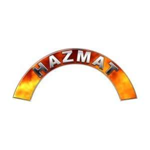 HAZMAT Real Fire Firefighter Fire Helmet Arcs / Rocker