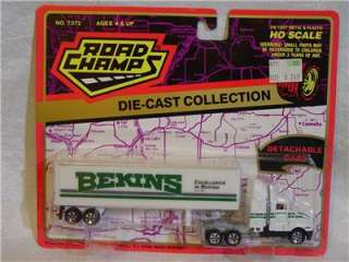 Road Champs Die Cast Semi Truck & Trailer Bekins Excellence In Moving