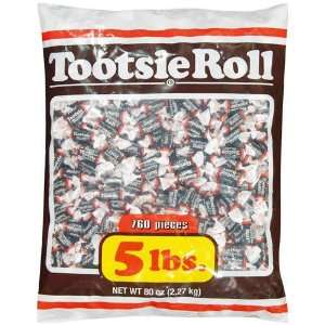 Tootsie Roll Midgees Halloween Candy 5 Pound Value Bag 760 Pieces