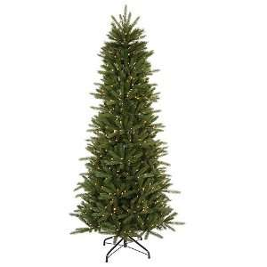 14 Pre Lit Slim Vermont Fir Instant Shape Artificial