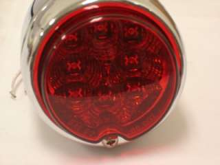 is a 1939 Chevy 12v LED tail light assembly. This pair of tail lights