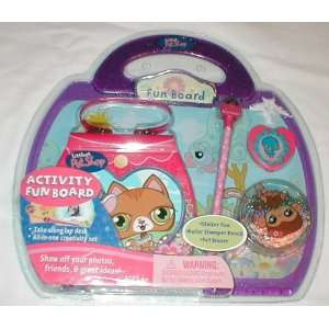 Littlest Pet Shop LPS Activity Fun Board with Lap Desk All