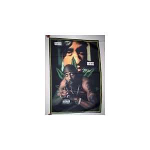 2PAC TUPAC 5x3 Feet Cloth Textile Fabric Poster