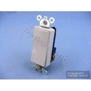 10 Leviton Gray COMMERCIAL Decora Rocker Wall Light Switches 5691 2GY