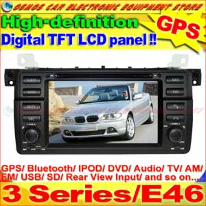 BMW 3 Series/E46 Car DVD Player GPS Navigation In dash Stereo Radio