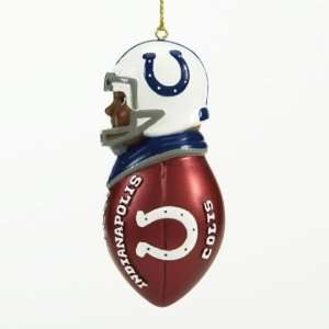 SC Sports NFL Indianapolis Colts Team Tacklers Ornament (Set of 2