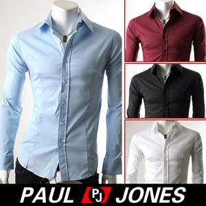 Charm Luxury Mens Casual Business Slim fit Dress Shirts Collection