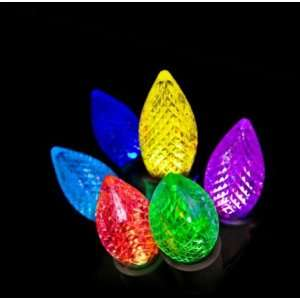 Light Show 12ct Color Changing C9 LED Light Set   Multicolor Energy