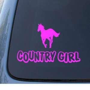 COUNTRY GIRL   Western   Car, Truck, Notebook, Vinyl Decal