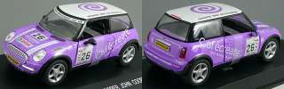BMW Mini Cooper #26 JOHN COOPER WORKS diecast car 143