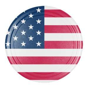 28 American Flag Spare Tire Cover   Molded Plastic Face   Boomerang