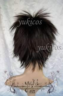 DuRaRaRa Orihara Izaya Cosplay wig short black costume party coser
